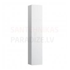 Augstais skapis Ino, 360x305 mm, h=1800 mm, 1D, labā puse, matēts balts