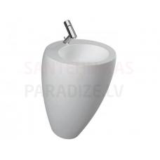 Izlietne Alessi One, 520x530x850 mm, balta LCC