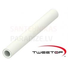 Tweetop PERT/AL/PERT daudzslāņu caurule DN 32x3.0 (stienis) (cena par 1 metru)