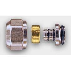 Tweetop adapteris tips EUROCONUS radiatoriem un kolektoriem 16x3/4 (niķelēts)