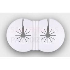 Tweetop plastmasas dekoratīvais kauss caurulēm Ø 16mm