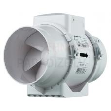 VENTS sadzīves kanāla augstspiediena ventilators ar taimeri TT125T Ø125 mm