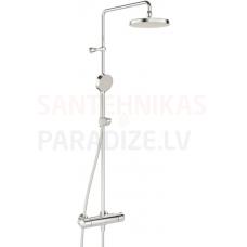 Dušas termostats Oras Nova ar augšējo un rokas dušu